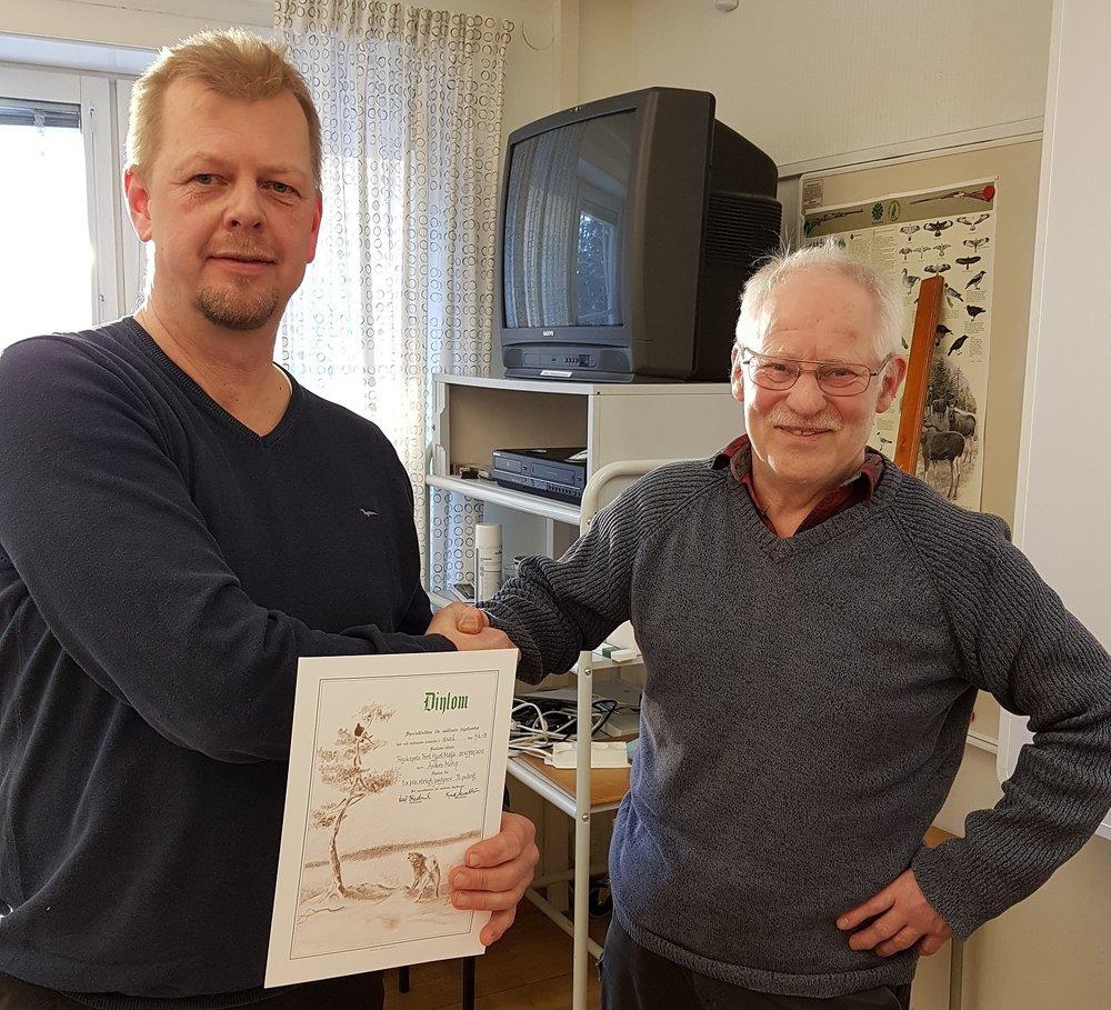 Anders Morin - Fort Hjort Maija, 76 poäng rörligt jaktprov