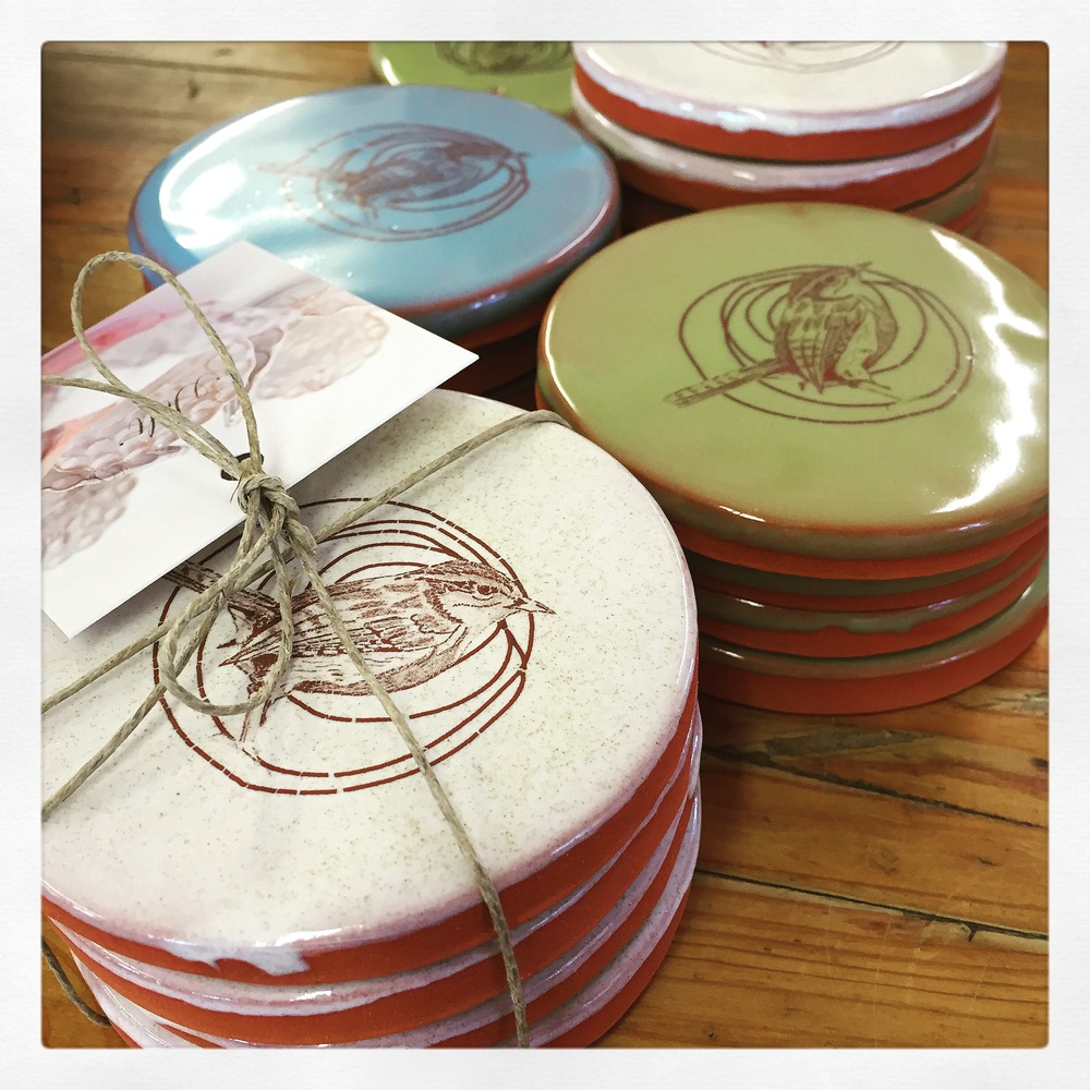 new coaster sets!