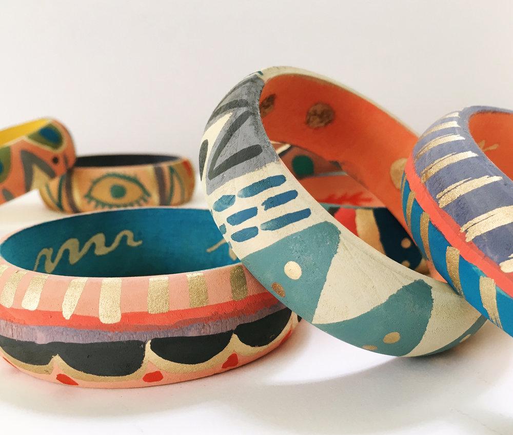 Easton hand painted bracelets 2.jpg