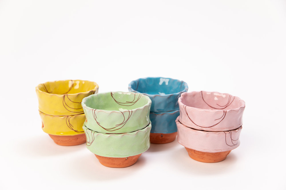 new little snack bowls