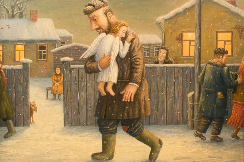 Иллюстрация: Владимир Любаров. «Ангел»