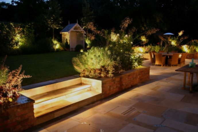 The importance of exterior lighting design hte pro portal different illumination types and fixture styles may be present in only specific sections but the designer uses their knowledge of light to blend the areas mozeypictures Image collections