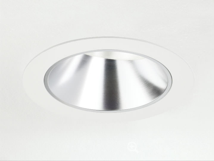 Round Trimmed Adjustable in Clear Chrome with Micro Prism Solite Lens