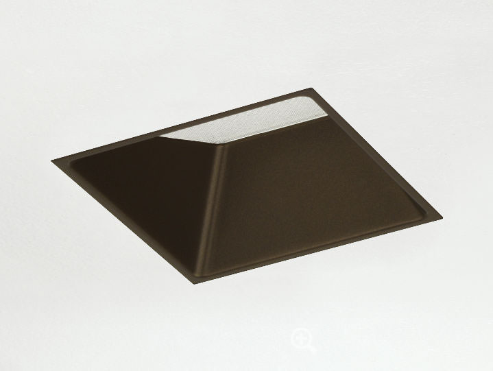Square Trimless Adjustable Bronze with Micro Prism Solite Lens