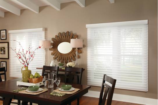 HORIZONTAL SHEER BLINDS