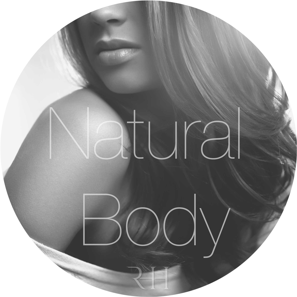 natural body and wavy micro ring hair extensions