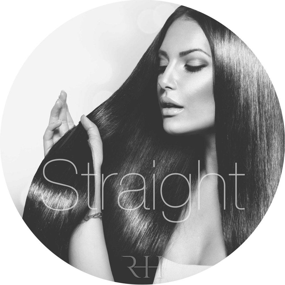 straight micro ring hair extensions