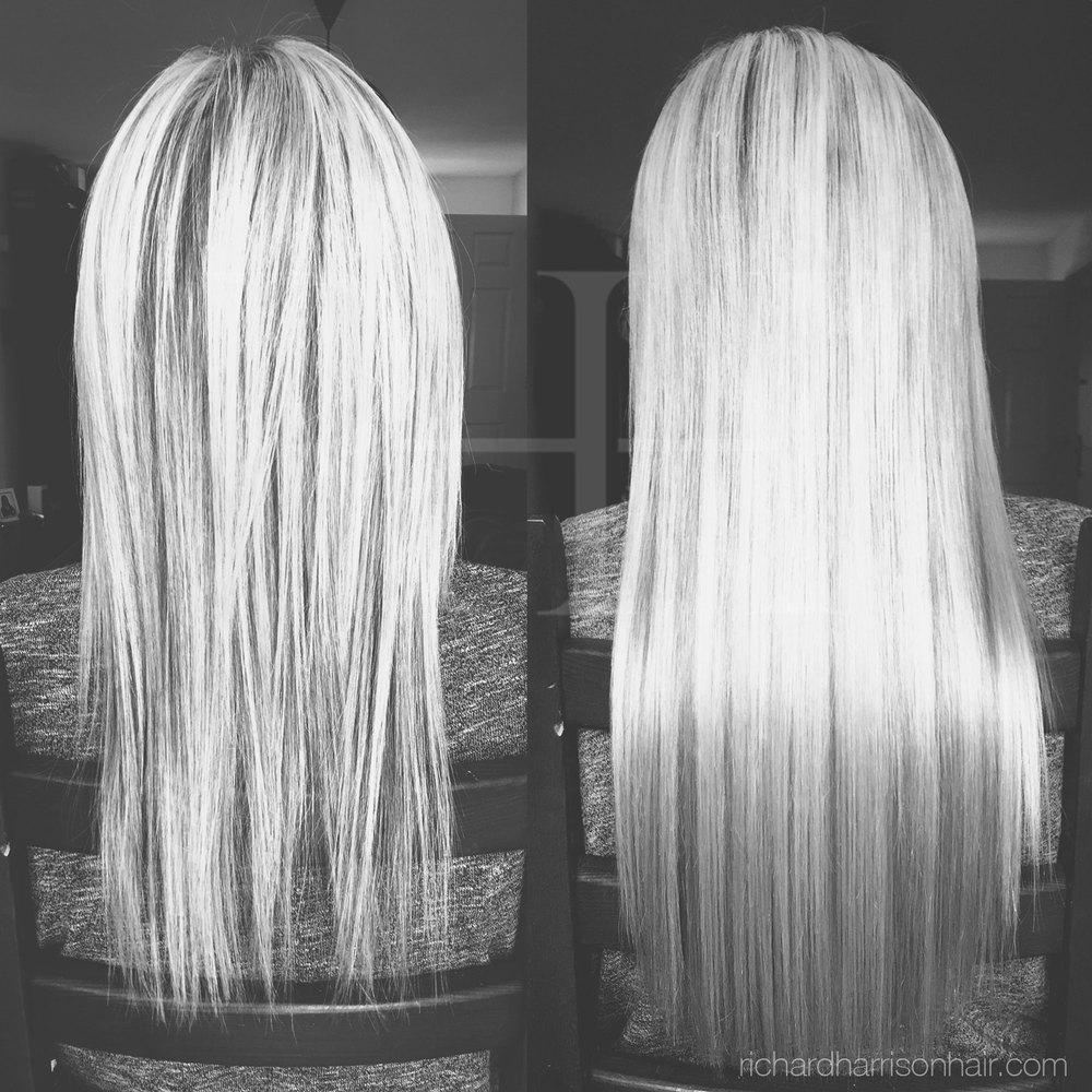 250 Blonde Hair Extensions