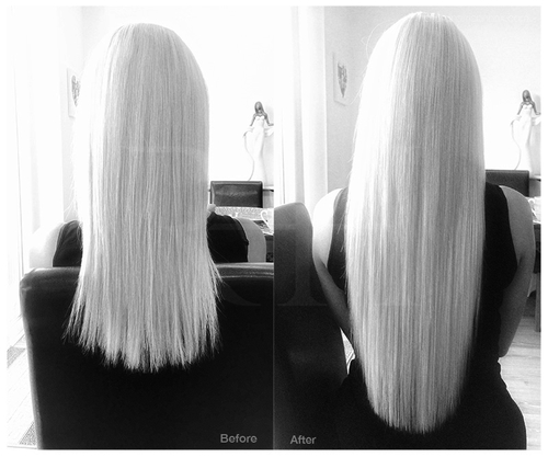 Micro ring hair extensions professionally fitted at home in lucy pmusecretfo Images