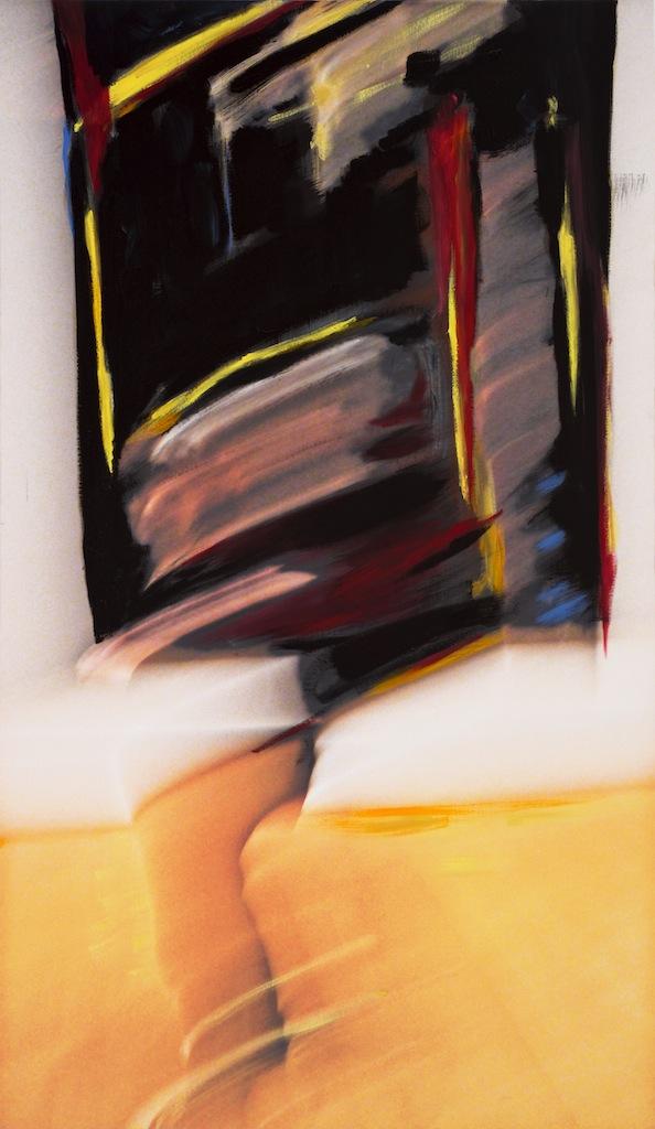 Andrew Hart Adler  'Ode to Still I'  Mixed media on canvas  167x 97 cm