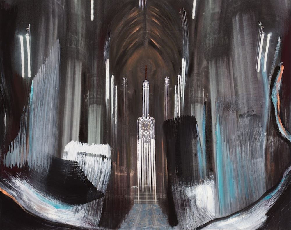 Andrew Hart Adler  'Architecture of Light I'  Mixed media on canvas  77 x 97 cm