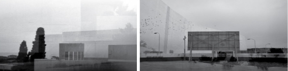 Zarah Cassim  'Imagined Space' (diptych)  Digital collage