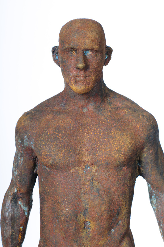 Adriaan Diedericks  'Innate (maquette) II'  Bronze or resin, edition of 12  50 x 20 x 10 cm