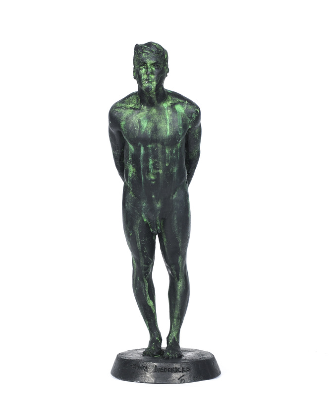 Adriaan Diedericks  'Figurehead (maquette)'  Bronze or resin, edition of 12  32 cm