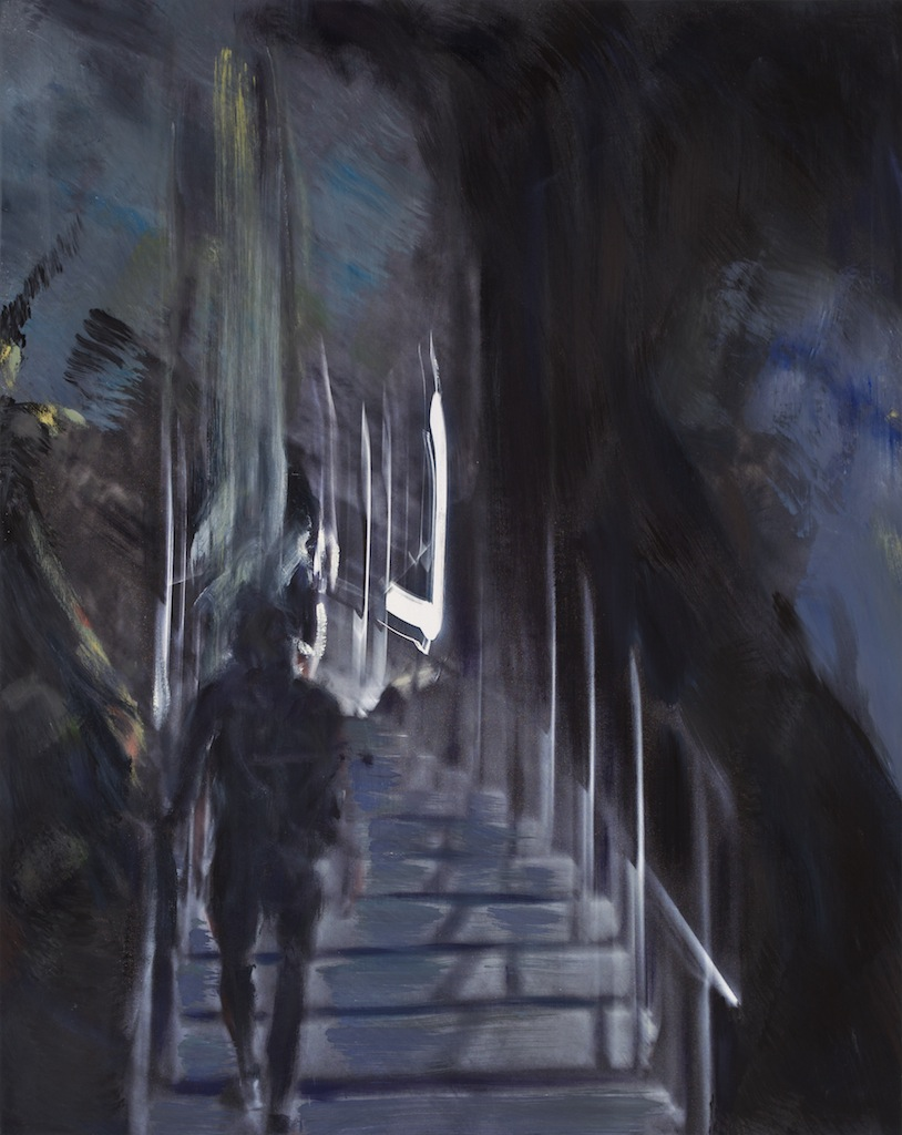 Andrew Hart Adler  'Cathedrals of Forgotten Dreams V'  Mixed media on canvas  97 x 77 cm