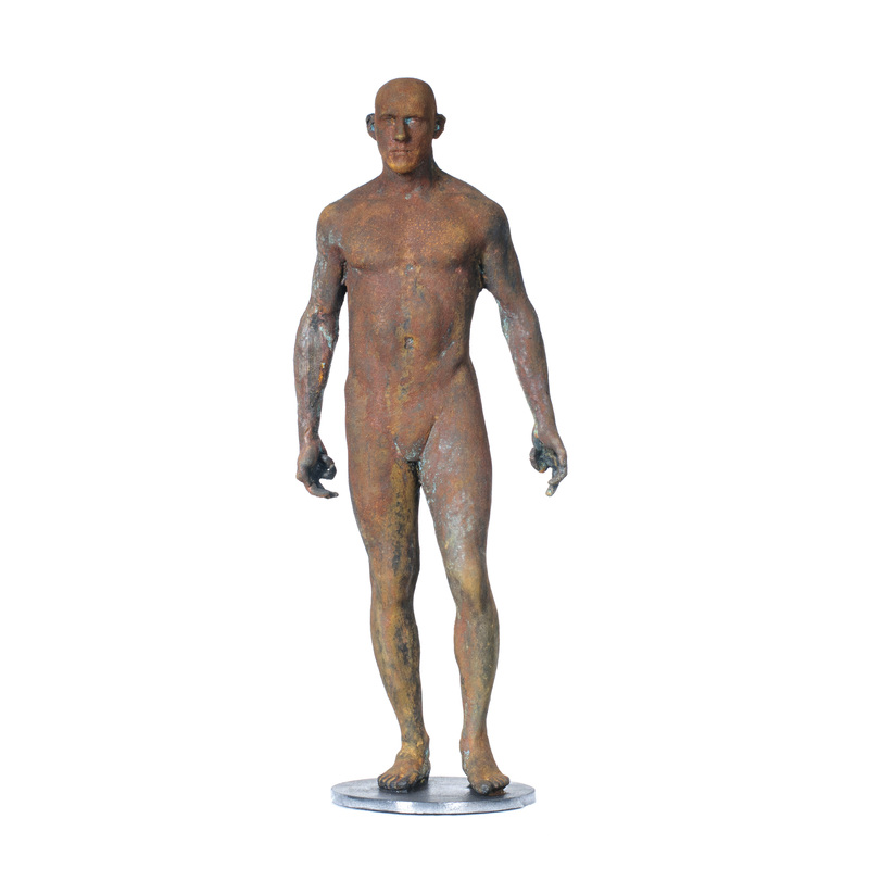 Adriaan Diedericks  'Innate (maquette) II'  Bronze, edition of 12  50 x 20 x 10 cm