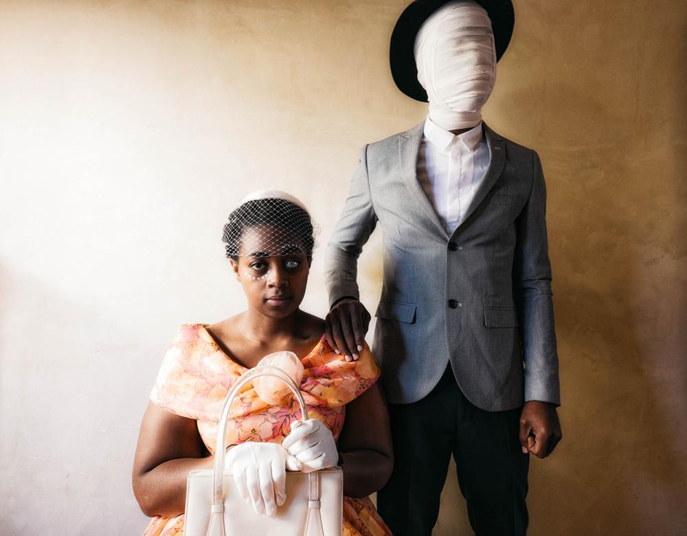 Johnson Tsoku Maela  'Family Portrait (Broken Things)'  Digital print, edition of 5  29,7 x 42 cm