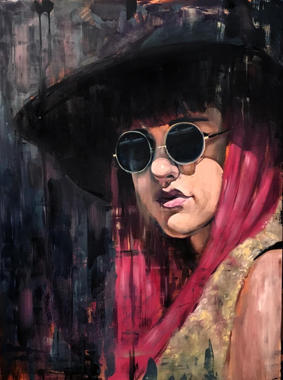 Stefan Smit  'Street Spirit'  Oil on canvas  122 x 91.5 cm
