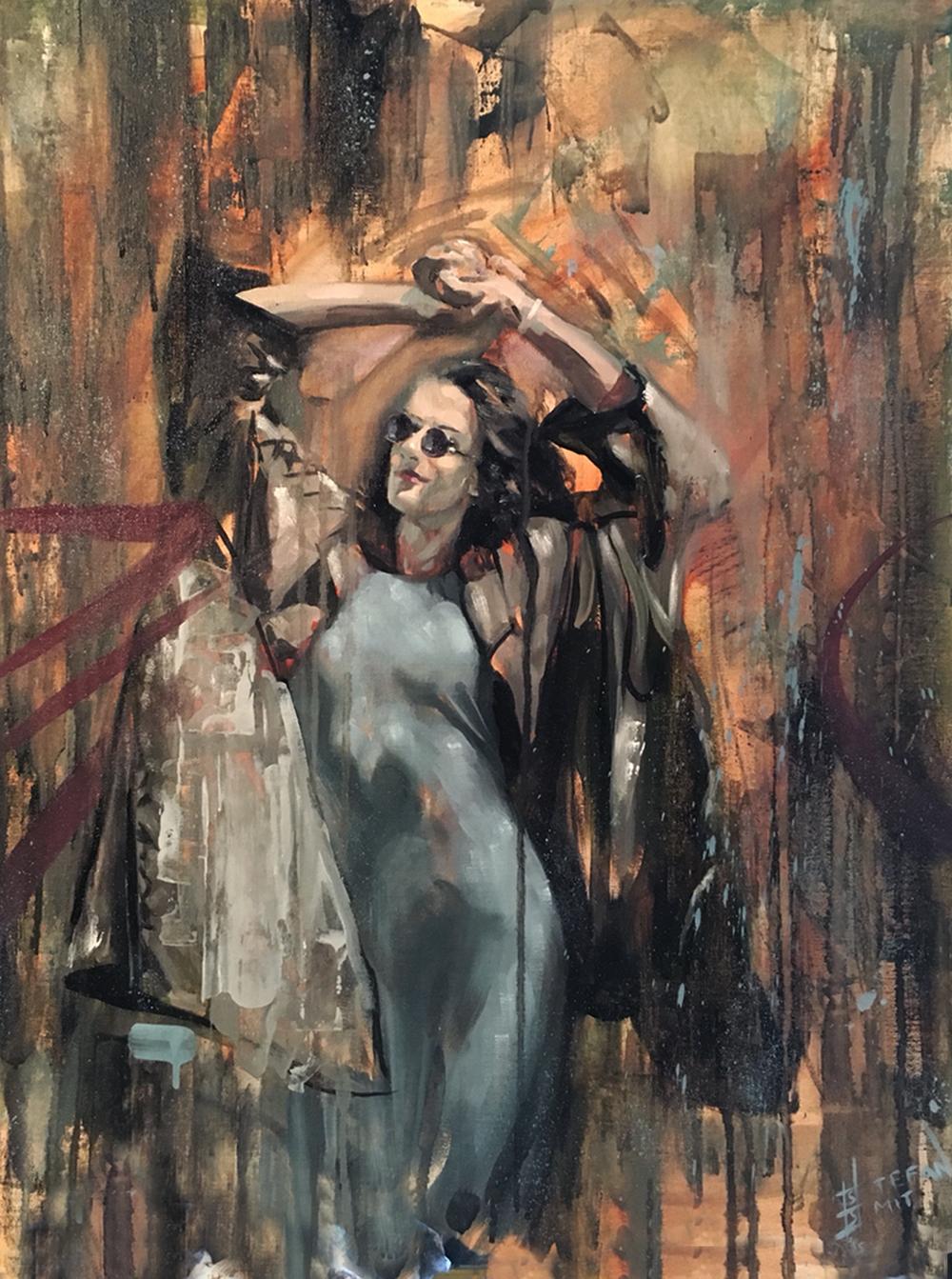 Stefan Smit  'Endearment Everlasting'  Oil on canvas  71 x 56 cm