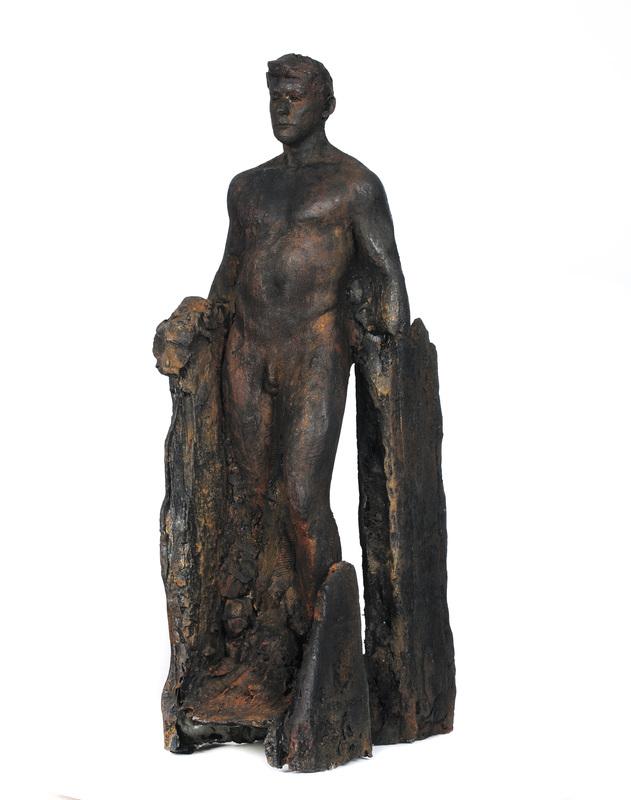 Adriaan Diedericks  'Incarcerate'  Resin & marble dust, ed 01/12  55 x 21 x 24 cm