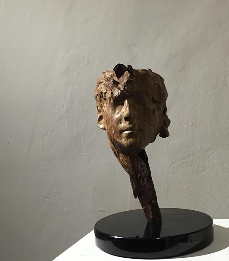Adriaan Diedericks  'Lineation'  Bronze  01/12