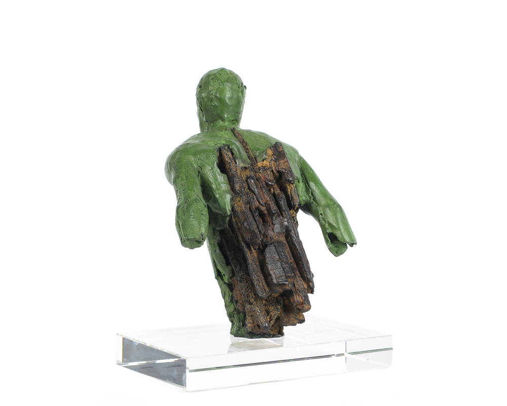 Adriaan Diedericks  Fig. (maquette)  Bronze or resin, edition of 12  24 x 18 x 18 cm