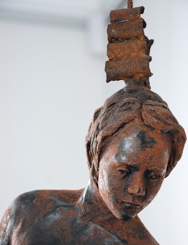 Adriaan Diedericks  Untitled  Bronze / resin & marble dust, ed. of 8  90 x 37 x 20 cm