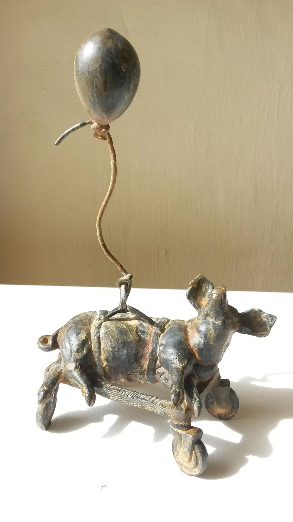 Cornelia Stoop  Lift-Off  Bronze 02/30  20 x 11 x 17 cm