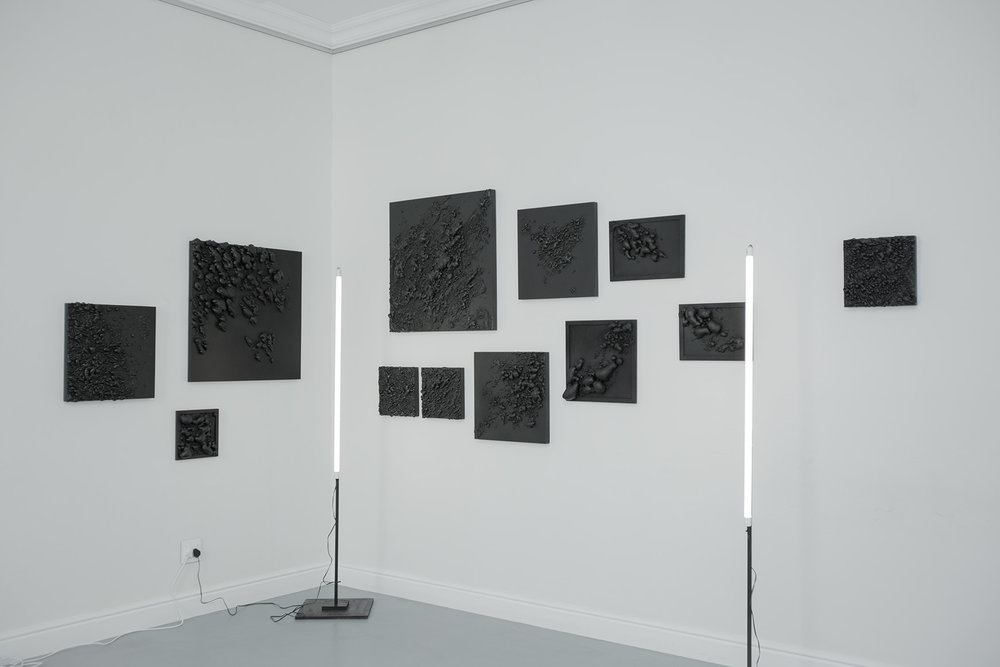 Louis Minnaar  Hello Darkness, My Old Friend  Installation shot