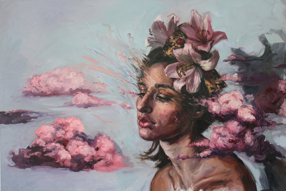 Alice Toich  'A Disruption in Perception'  Oil on canvas  100 x 150 cm