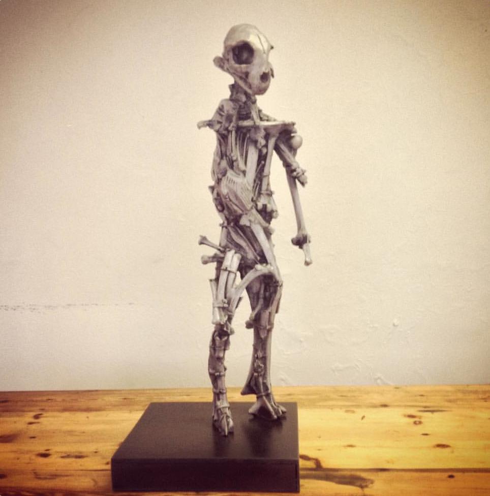 Johann Nortje  Spirit Walker #4  Bronze  49 x 20 x 20 cm