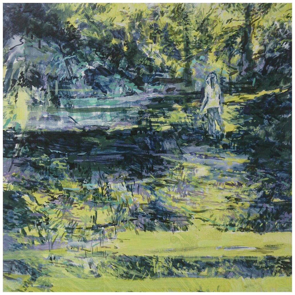 Karen Cronje  Hormesis  Gouache & acrylic on primed paper  30 x 30 cm
