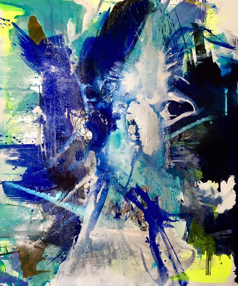 Ralph Gelbert  Mixed media on canvas  200 x 170 cm