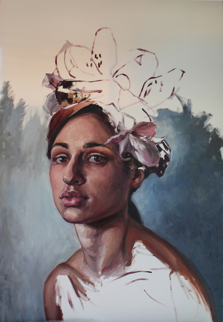 Alice Toich  I see you, too  Oil on canvas  150 x 100 cm