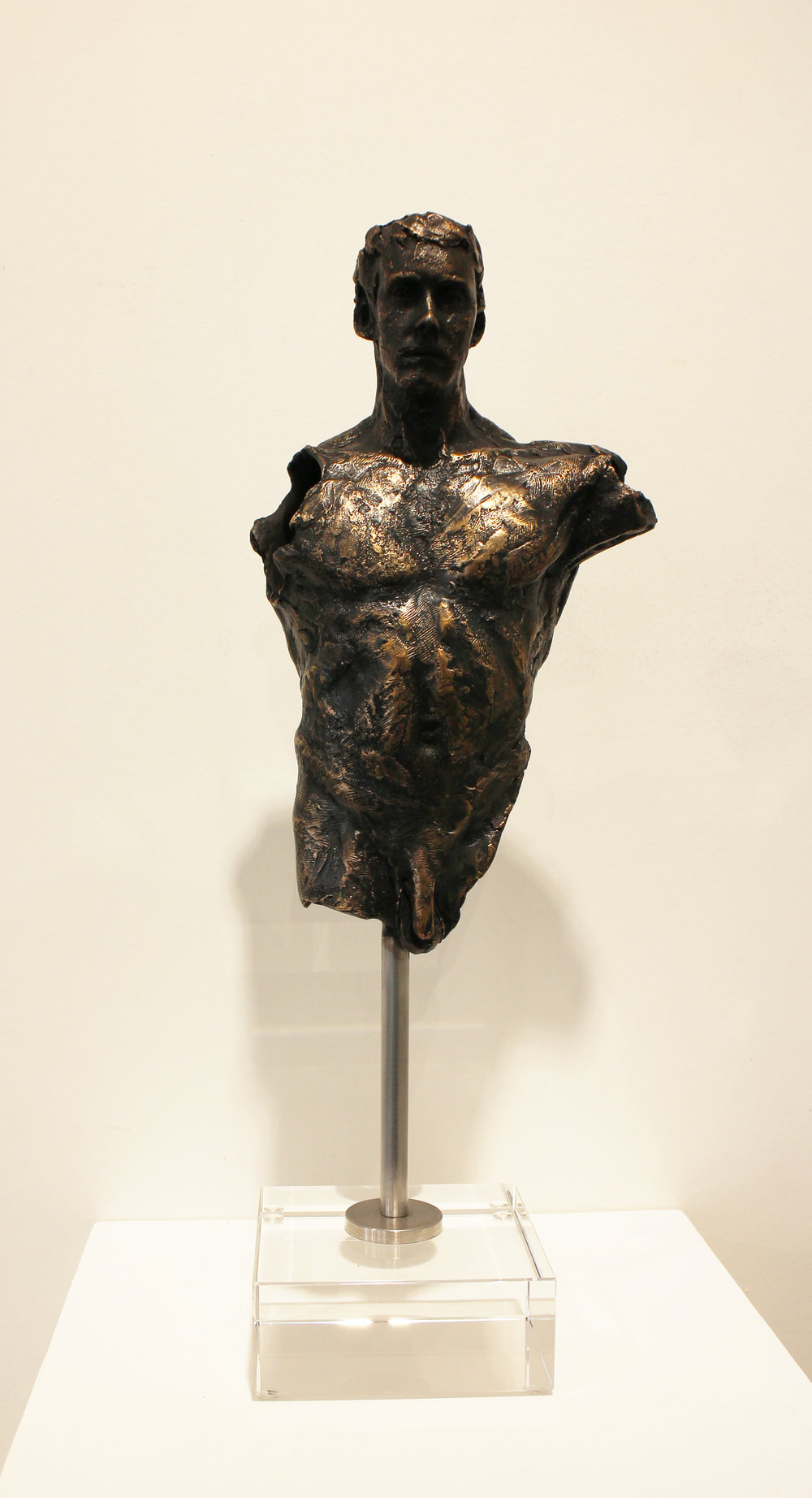 Adriaan Diedericks  'Floating Fragment'  Bronze  Edition 01/12   40 x 13 x 10 cm
