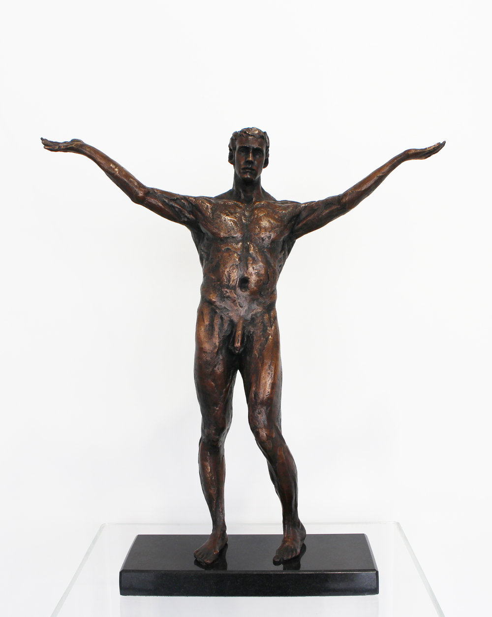 Adriaan Diedericks  'Huh'  Bronze  Edition 01/12  51.5 x 44 x 14 cm
