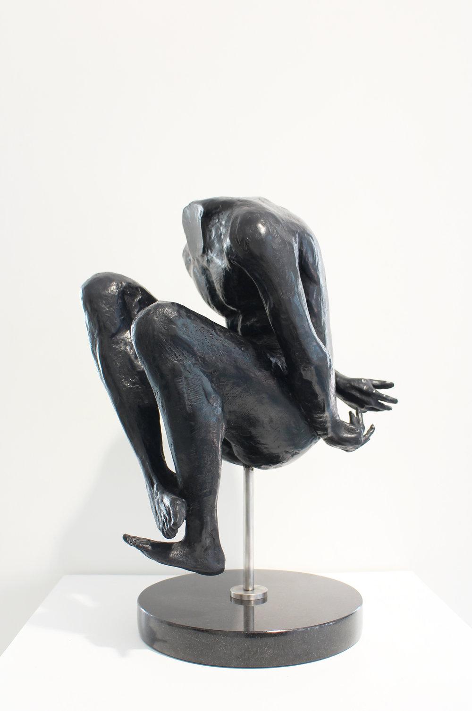 Adriaan Diedericks  'Oblivion (maquette)'  Bronze  Edition 01/12  40 x 33 x 23.5 cm
