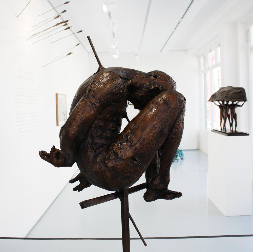 Adriaan Diedericks  'Oblivion'  Bronze  Edition 01/12  132 x 60 x 60 cm