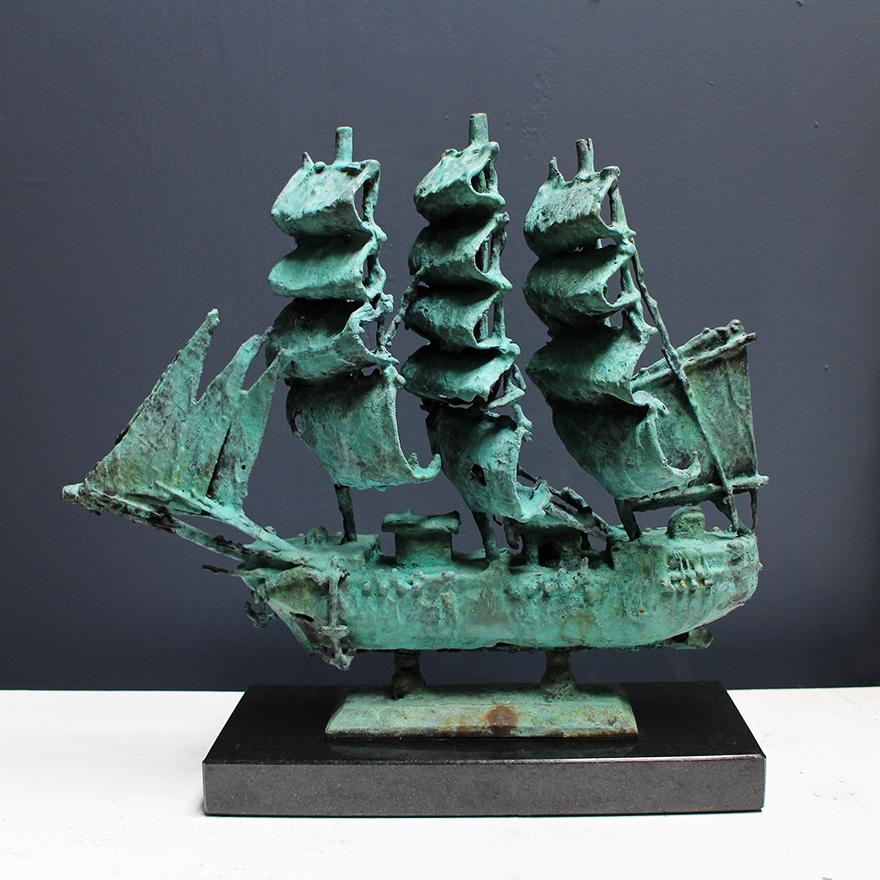 Adriaan Diedericks  'Ship I'  Bronze  35 x 40 x 11 cm  01/01