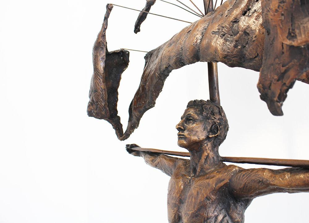 Adriaan Diedericks  'Corpus'  Bronze  Edition 01/08  172 x 90 x 25 cm