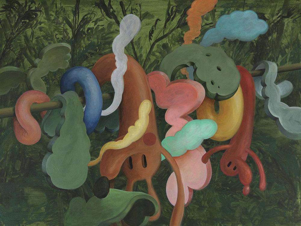 Wim Legrand  Limbo  Acrylic on canvas  60 x 80 cm