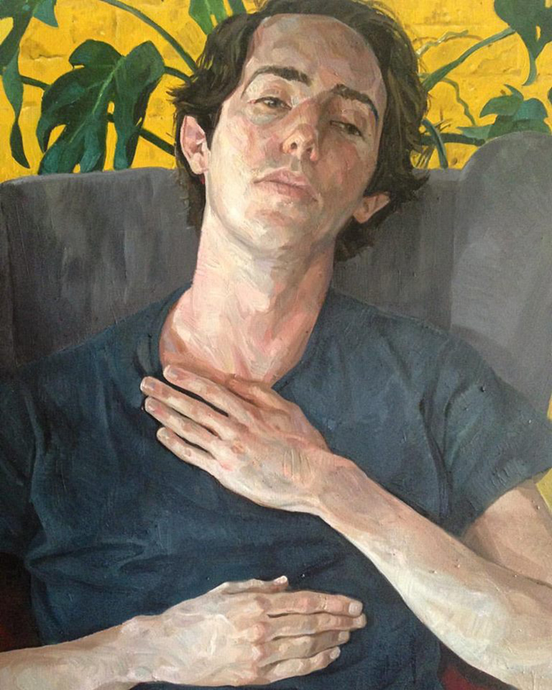 Daniel Clarke  James  Oil on canvas  120 x 90 cm