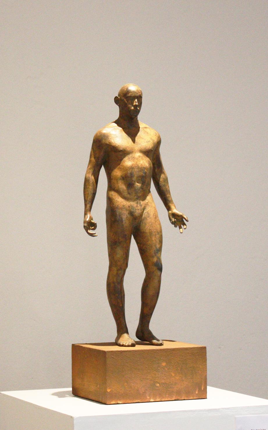 Adriaan Diedericks  Innate II  Bronze, ed/12  50 x 20 x 10 cm