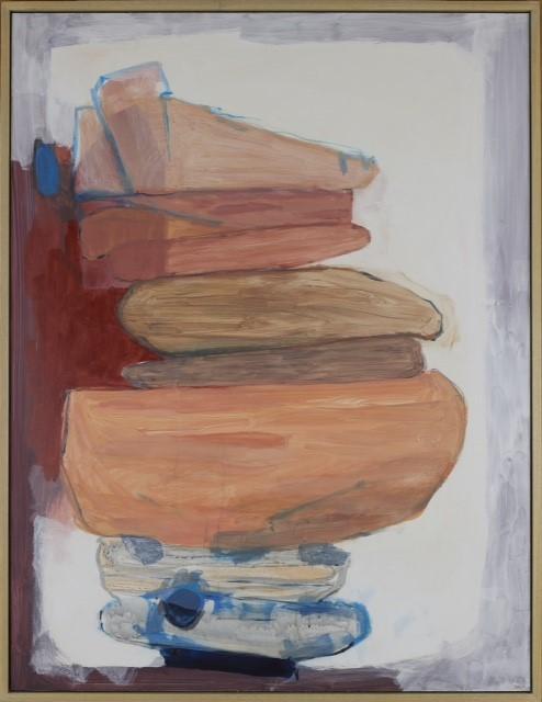 Jeanne Hoffman  Lasting Encounter  Acrylic on board  85 x 65 cm