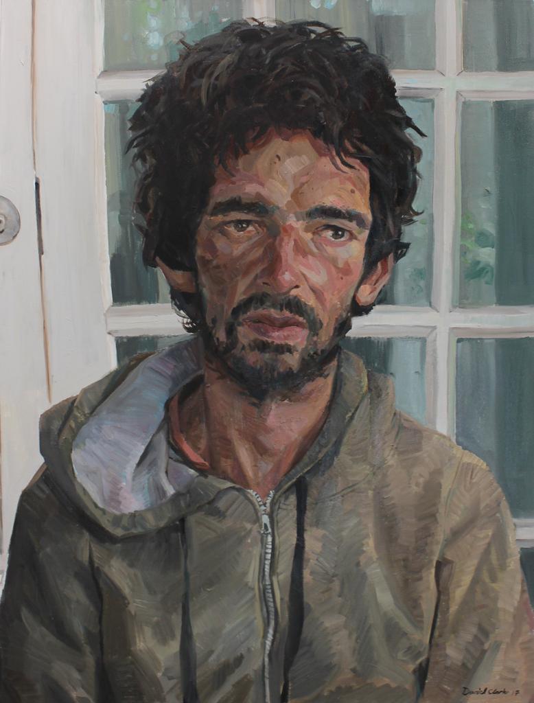 Daniel Clarke  Warren, 2017  Oil on canvas  120 x 90 cm