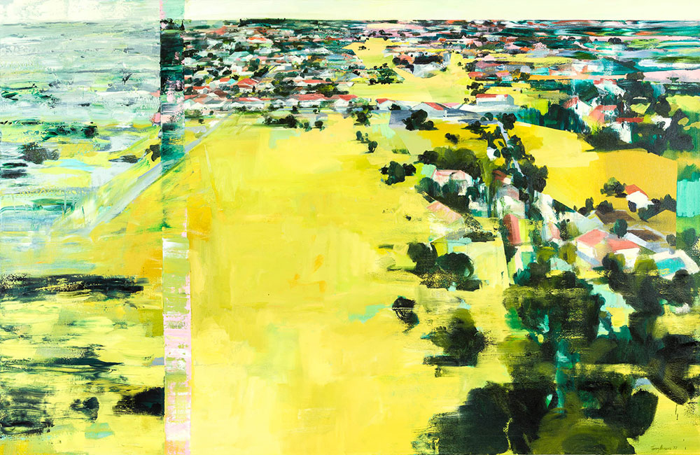 Jenny Parsons  Search  Oil on canvas  130 x 200 cm
