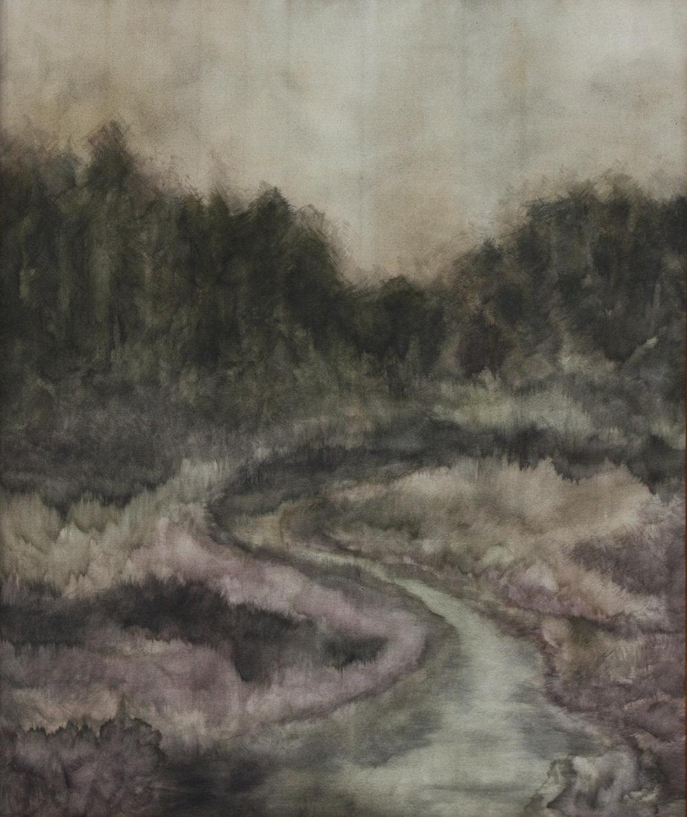 Zarah Cassim  A Way  Oil on canvas  91 x 76 cm