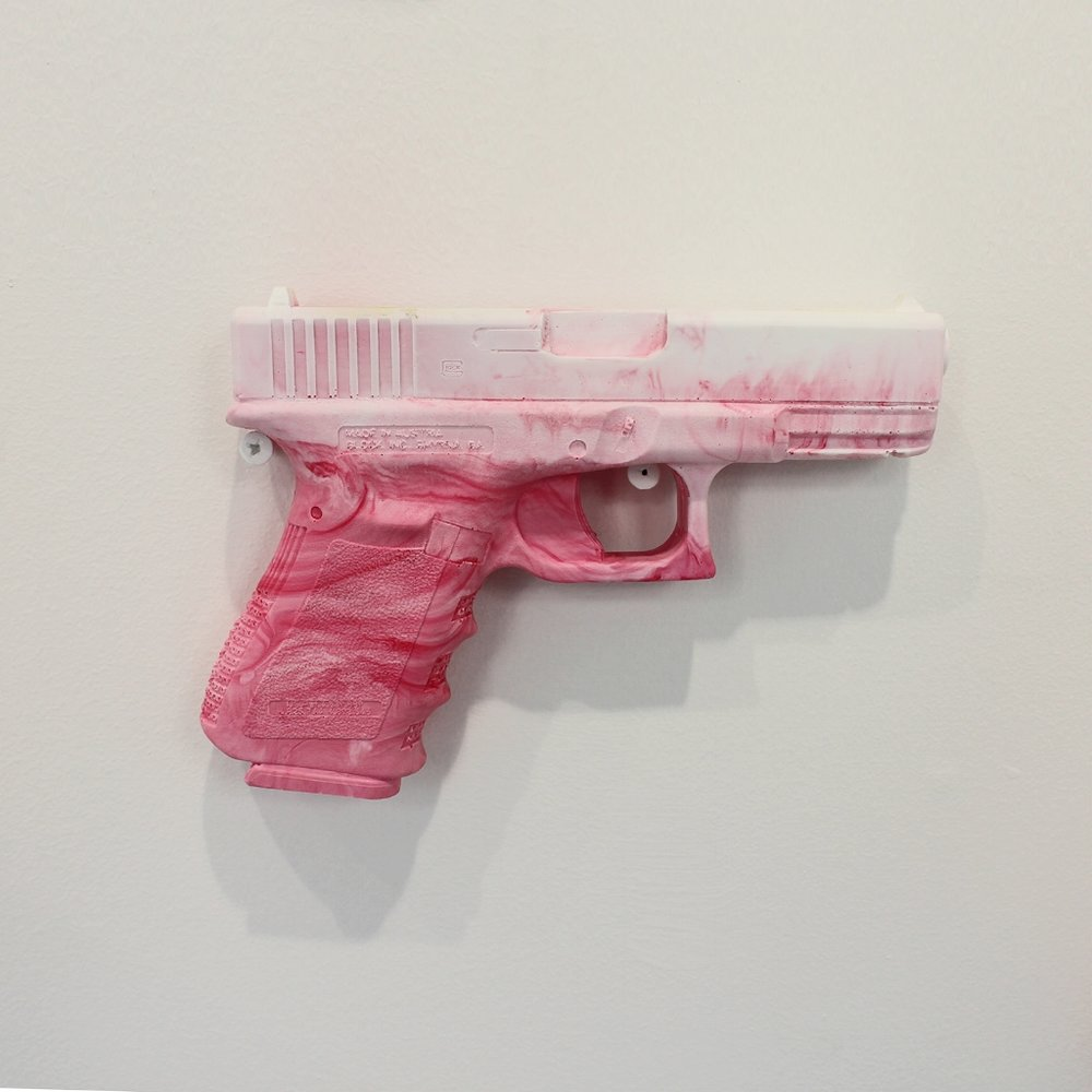 Geena Wilkinson  Oh sorry, I thought you said you wanted to bang?   Polyurethane resin  17,4x 12,7 x 3 cm