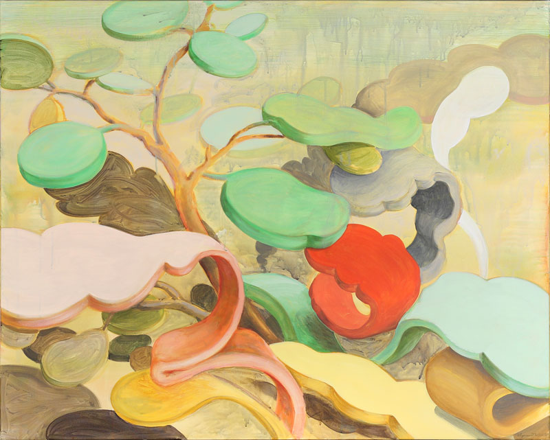Wim Legrand  Garden Variety  Acrylic on canvas  80 x 100 cm
