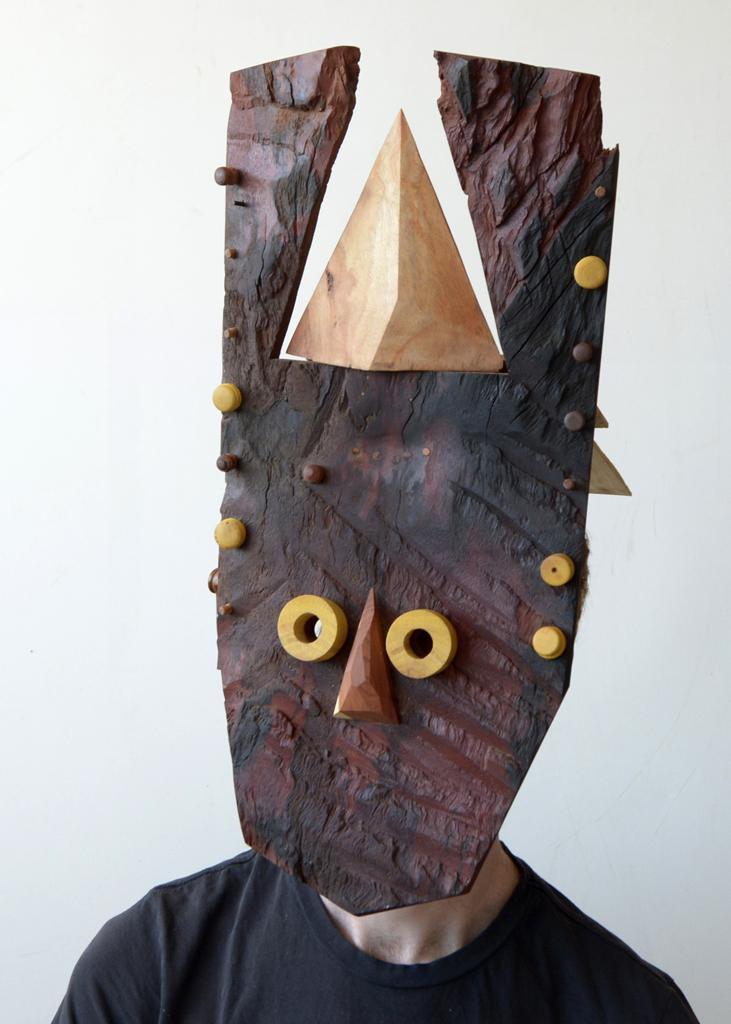 Allen Laing  Vinegar Slap Chips Mask  Various woods